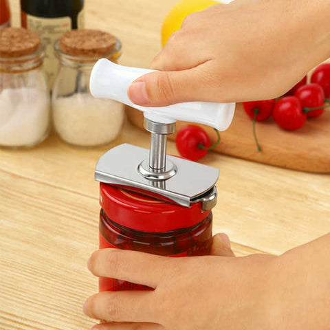 Jar Opener Can Opener Easy Bottle Opener Fit Jar of Different Sizes - A  Must Have Kitchen Tool