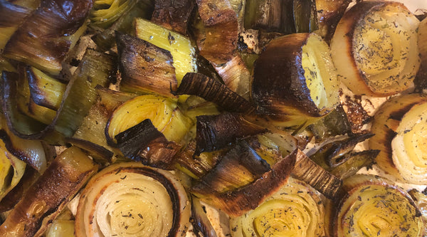 Recipe of the Week: Roasted Leeks