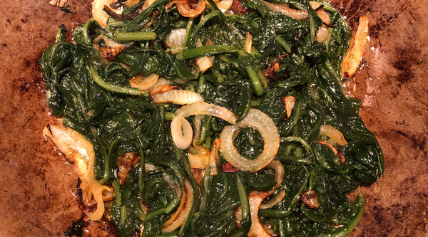 Recipe of the Week:  Hindbeh (Lebanese Dandelion Greens)