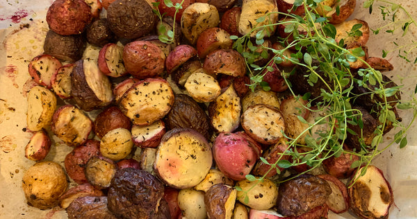 Recipe of the Week: Roasted Organic Radishes