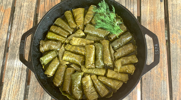 Recipe of the Week: Domades (Stuffed Grape Leaves)