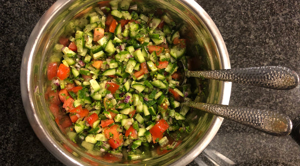 Recipe of the Week: Cold Cucumber & Tomato Salad