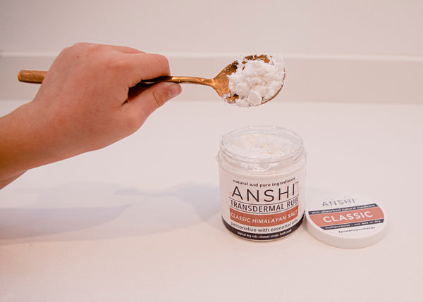 How To Make a Natural Bath Soak with ANSHI & Your Favorite Essential Oils for Relaxation