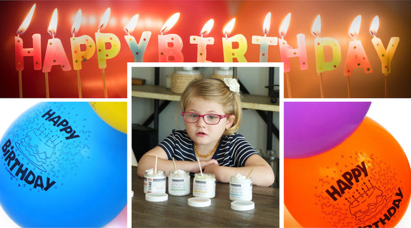 ANSHI's Inspiration:  Happy 6th Birthday, Raegan!