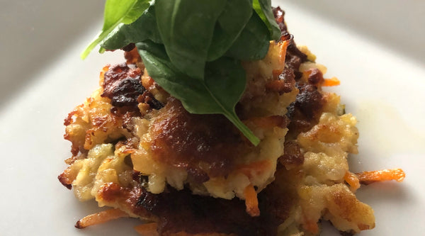Recipe of the Week: Stacked Carrot Potato Cakes