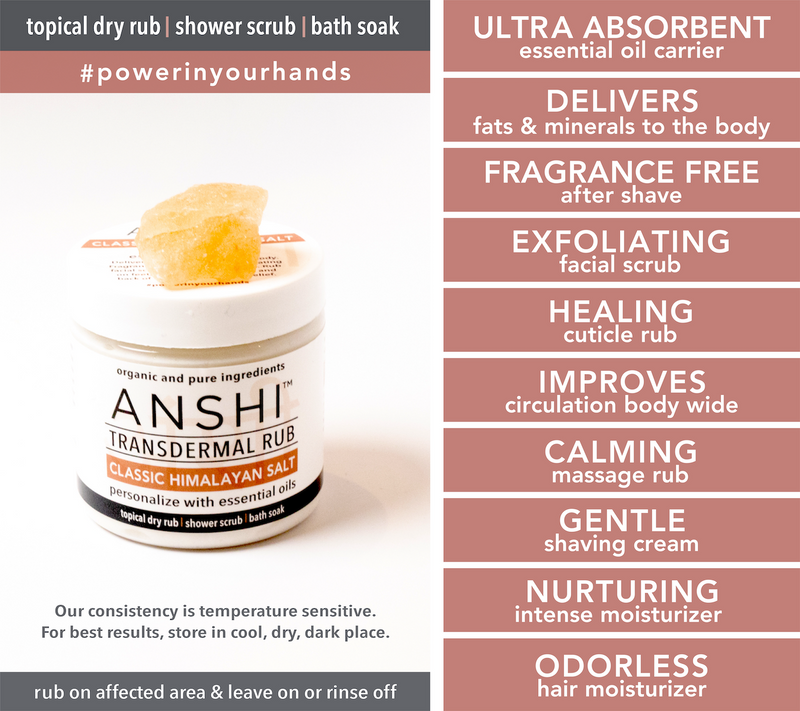 Classic Pink Salt | Body & Face | Personalize with Essential Oils with 10+ Ways to Use - Wet or Dry!