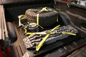Trucktyles cargo organization system for your truck bed. Secure your items anywhere you need them.