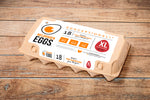 WELDHAGEN EGGS - 18'S PRE-PACK (X-LARGE) FREE RANGE
