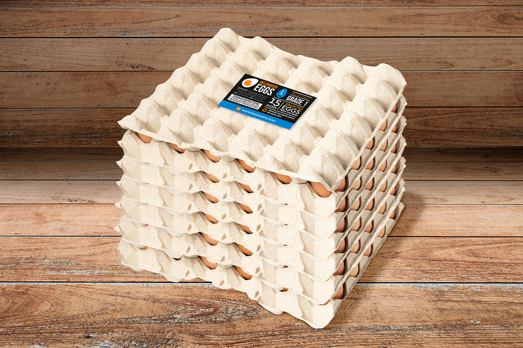 WELDHAGEN EGGS - 15 DOZEN (LARGE)