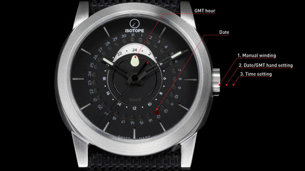 Isotope GMT 0º Instructions