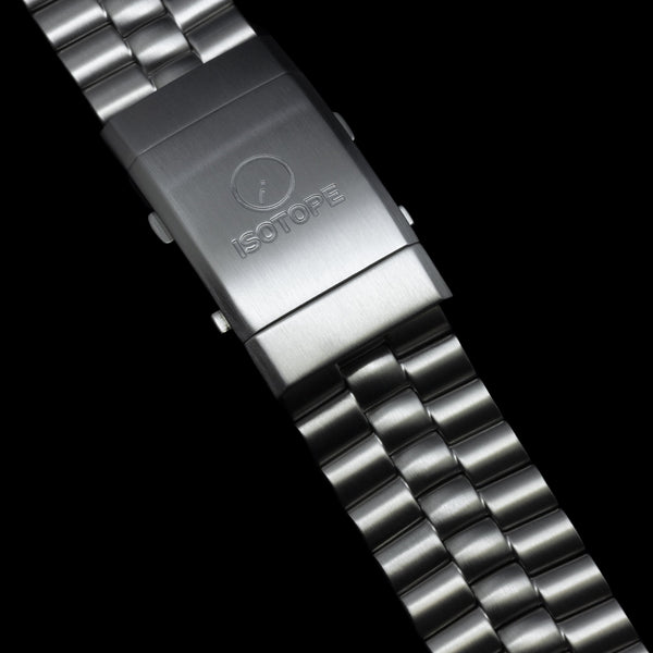 Isotope Goutte d'Eau Stainless Steel Bracelet