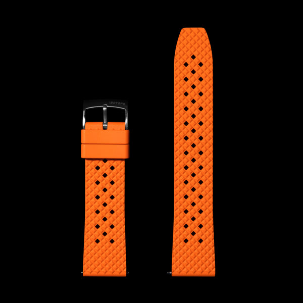 Quick Release Orange FKM Strap
