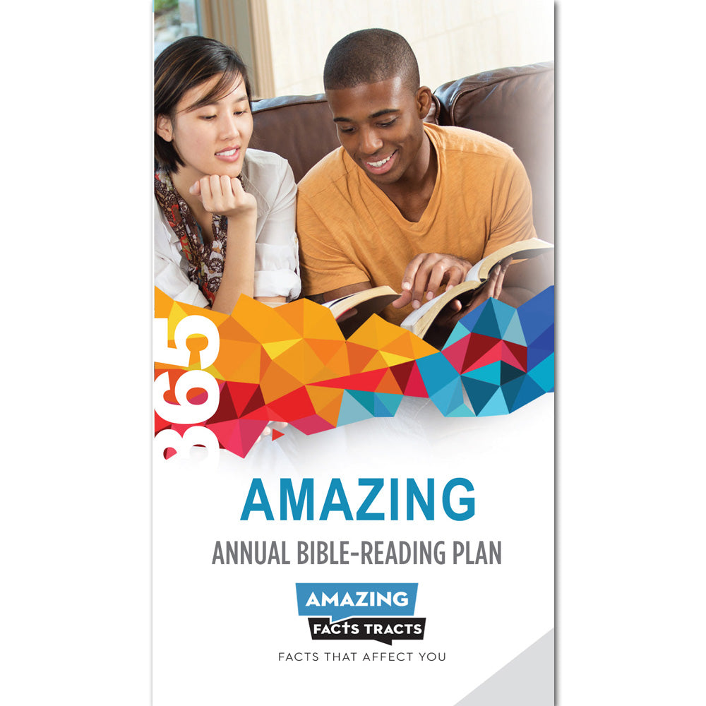 AFacts Tracts (100/pack): 365 Amazing Annual Bible-Reading Plan by Amazing Facts