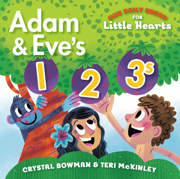 Adam and Eve's 1 2 3's (Board Book) by Discovery House