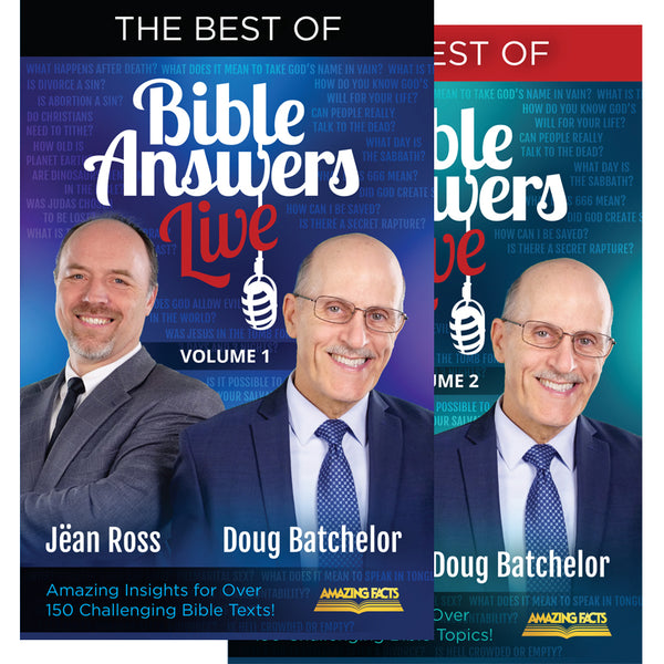 The Best of Bible Answers Live Vol. 1 & 2 Set by Amazing Facts