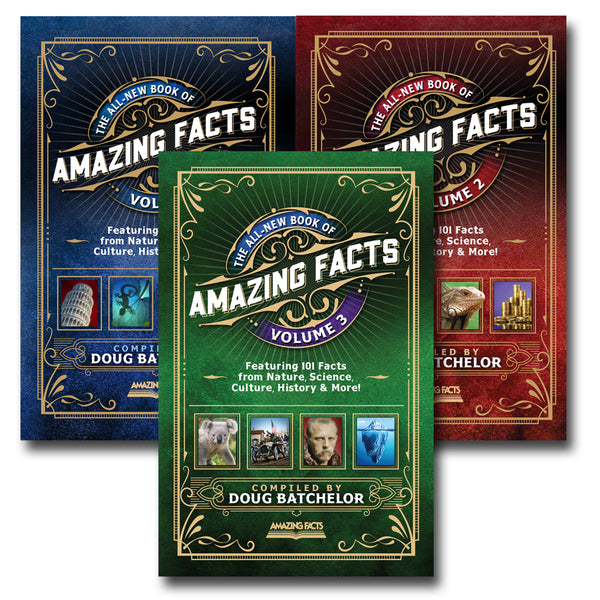 The All-New Book of Amazing Facts Set (Vol. 1, 2. & 3) by Doug Batchelor