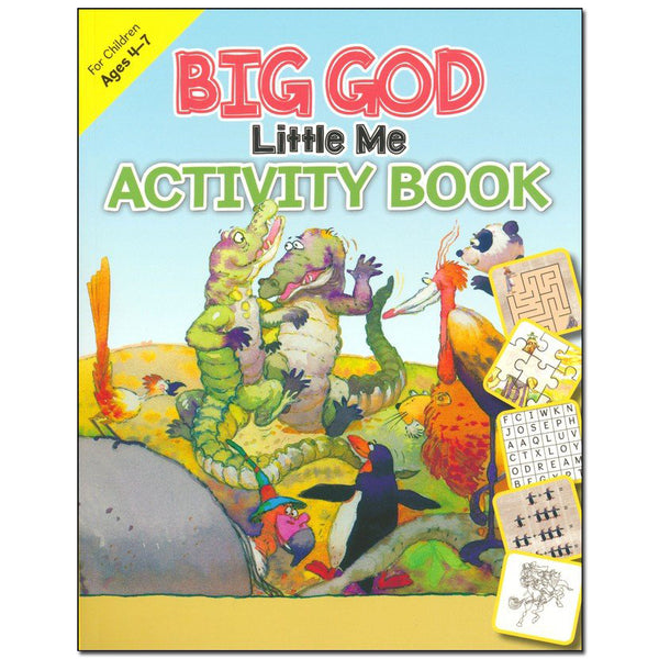 Children's Activity Bible (ages 4-7) by Kregel Children's Books