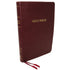 KJV Thinline Bible Large Print (Burgundy Leathersoft) by Thomas Nelson
