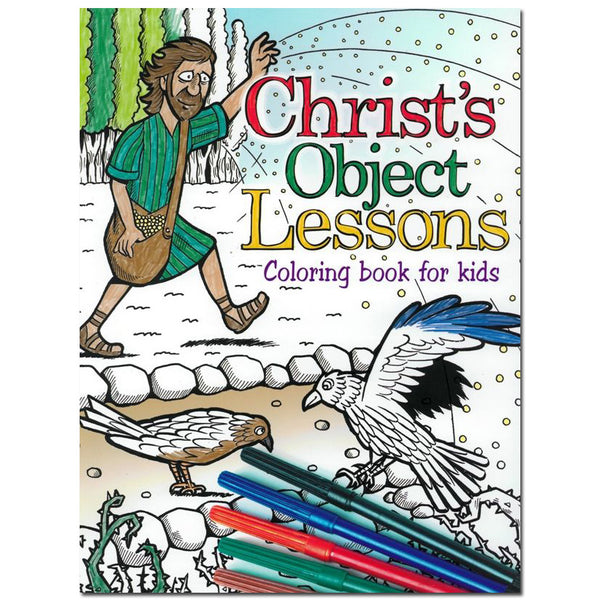 Christ's Object Lessons: Coloring Book for Kids by Stanborough Press