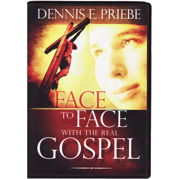 Face to Face with the Real Gospel DVD Set by Dennis Priebe