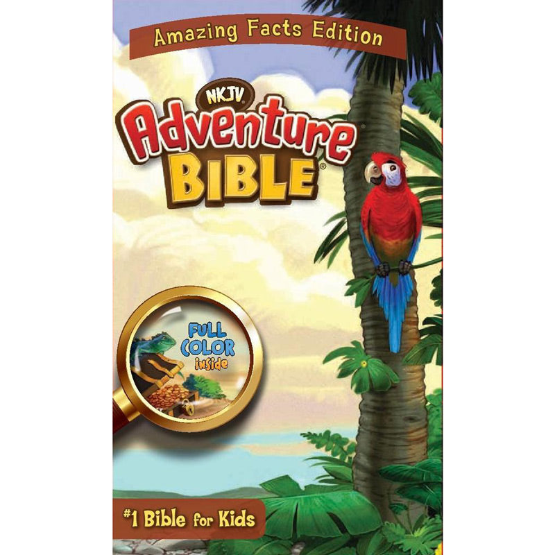 New King James Version Adventure Bible for kids by Amazing Facts