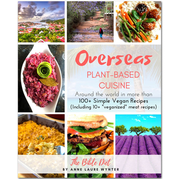 Overseas Plant-Based Cuisine: 100+ Vegan Simple Recipes by Anne Wynter