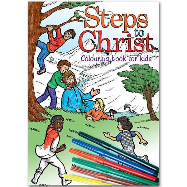 Steps to Christ Coloring Book for Kids by Stanborough Press
