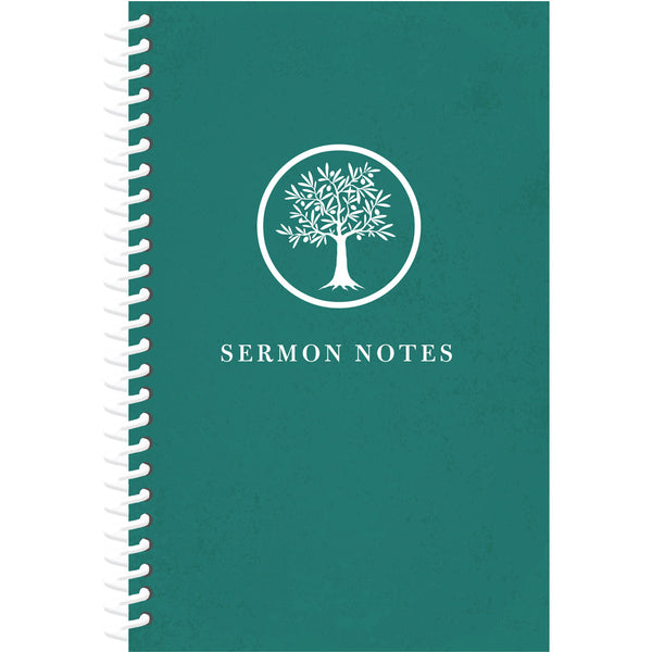 Sermon Notes Journal (Olive Treel) by Barbour Publishing