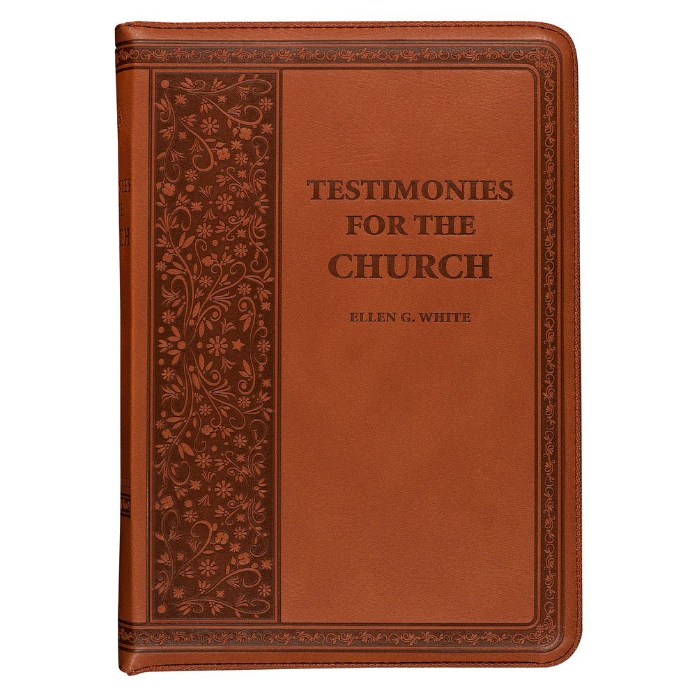 Testimonies for the Church (Brown w/ Zipper) Ellen White by Everlasting Gospel