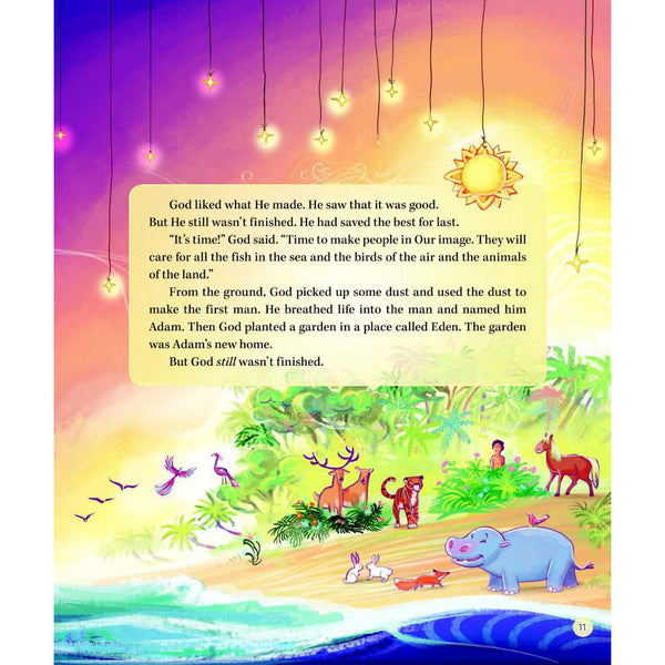 God's Words to Dream On: Bedtime Bible Stories and Prayers by Diane Stortz