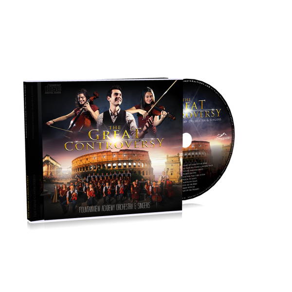 The Great Controversy 2 CDs by FountainView Academy