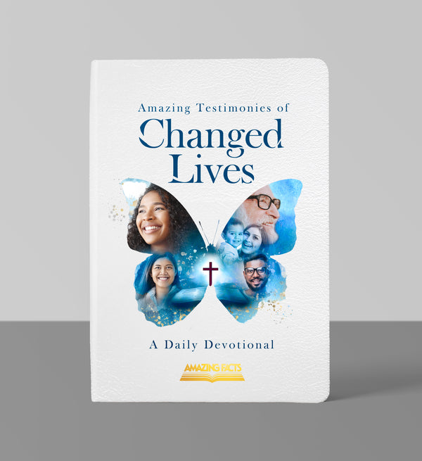 (Leathersoft) Amazing Testimonies of Changed Lives: A Daily Devotional by Amazing Facts