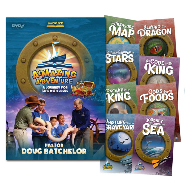 Amazing Adventure DVD, Study Guide & Activity Book Set by Doug Batchelor