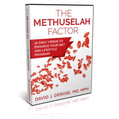 The Methuselah Factor: 30 Daily Videos DVD by Dr. David DeRose
