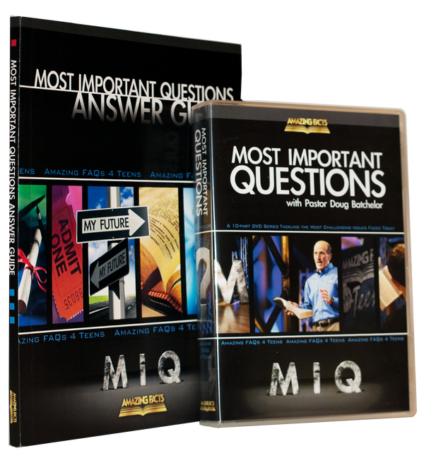 MIQ DVD Set, BOOK and BOX Series by Doug Batchelor