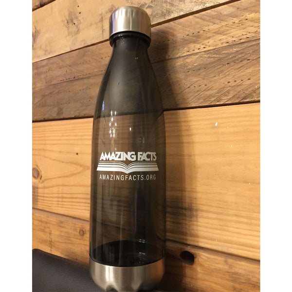 25 oz. Reusable Water Bottle with Stainless Steel Trim by Amazing Facts