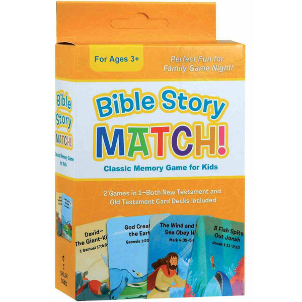Bible Story Match: Classic Memory Game for Kids by Barbour Publishing