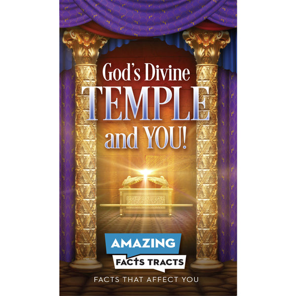 Afacts Tracts (100/pack): God's Divine Temple and You! by Amazing Facts