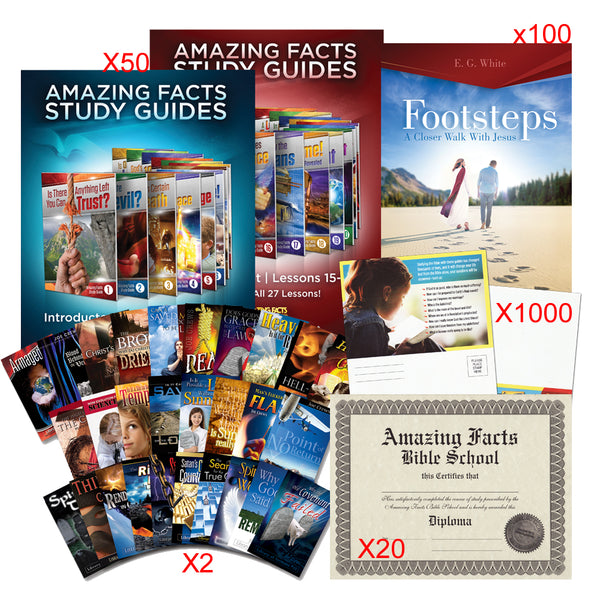 Large Church: Amazing Facts Bible School Starter Kit