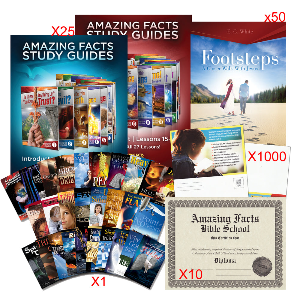 Small Church: Amazing Facts Bible School Starter Kit