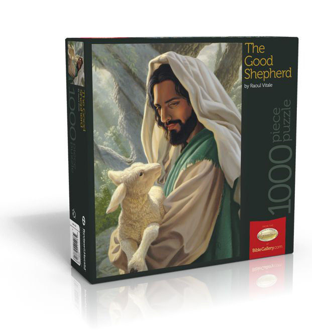 The Good Shepherd 1000 Piece Puzzle by Raoul Vitale