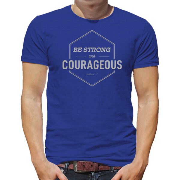 Courageous T-Shirt by Amazing Facts (Small)