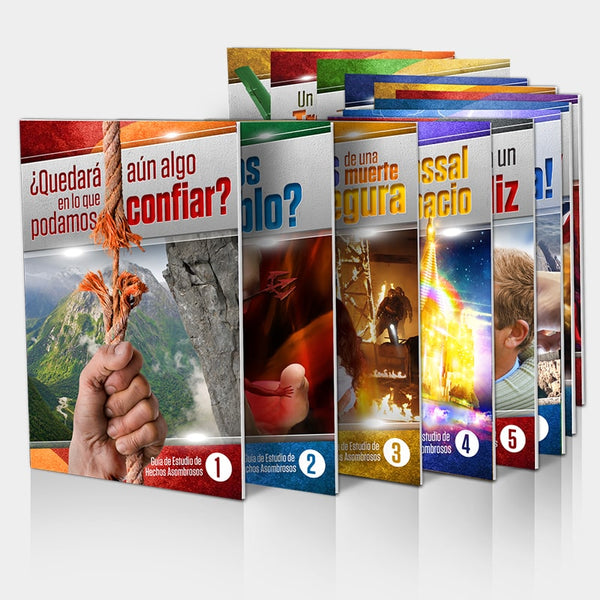 (Spanish) Amazing Facts Study Guides Introductory Set (1-1) in Bulk by Bill May