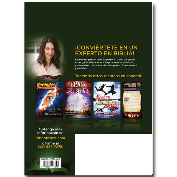 Guias De Estudio De Hechos Asombrosos Avanzado 15-27 (Amazing Facts Study Guides Advanced Spanish)