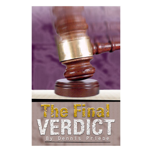 The Final Verdict (PB) by Dennis Priebe