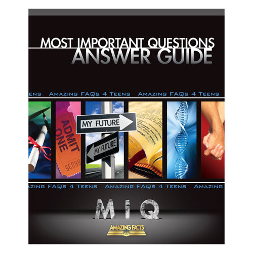 MIQ: Most Important Questions Answer Guide by Doug Batchelor