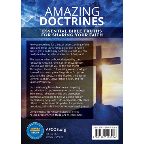 Amazing Doctrines Essential Bible Truths For Sharing Your Faith by Amazing Facts