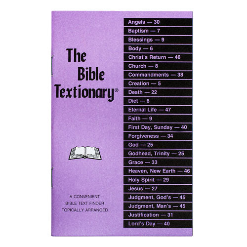 The Bible Textionary by Noble Vining