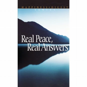 Real Peace,Real Answers by Pacific Press