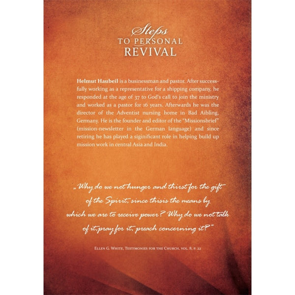 Steps to Personal Revival by Helmut Haubeil